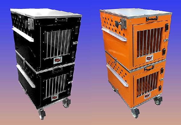 East Coast Stacking Crates with Wheel Set - 350