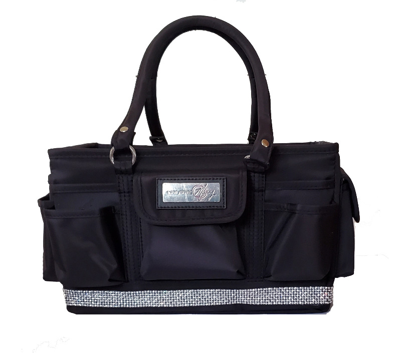 Grooming Tote with Silver Bling