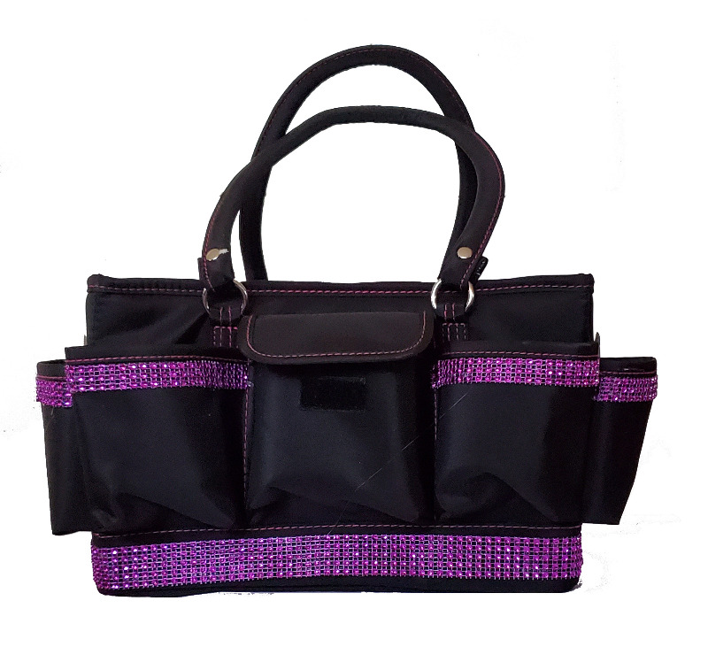 Grooming Tote with Fuchsia Bling