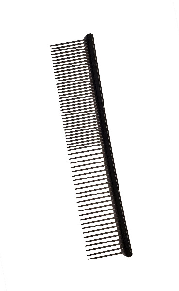 Comb -Flat Top Pocket Comb Black