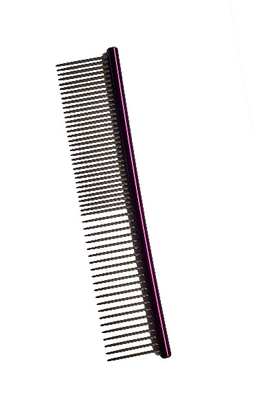 Comb -Round Top Pocket Comb Purple