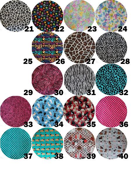 Fabric Stools Additional Fabrics