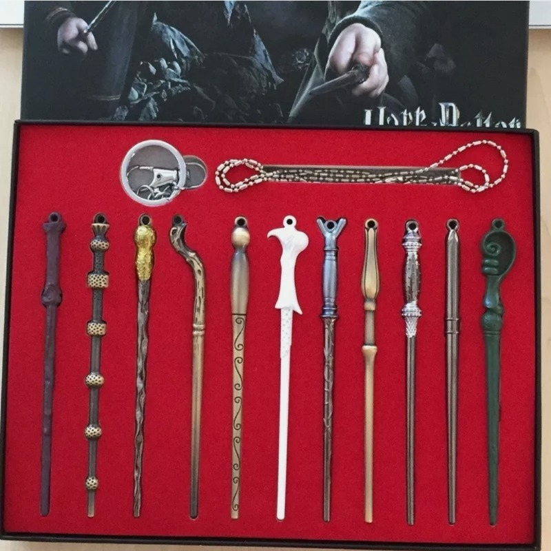 Harry Potter Collector Set With Display Case