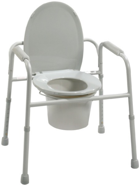 $Drive Medical Deluxe All-In-One Commode