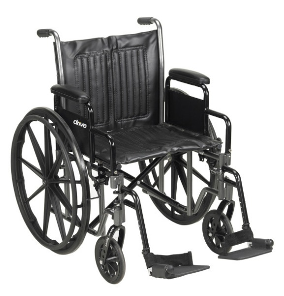$Drive Medical Silver Sport VI Heavy Duty Wheelchair