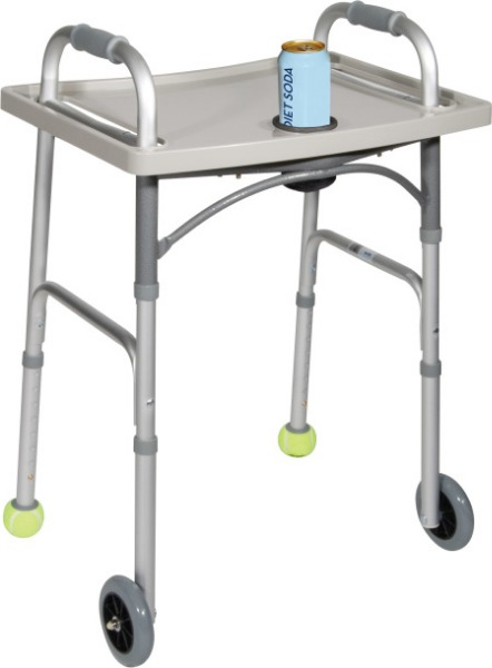 $Drive Medical Universal walker tray with cup holder