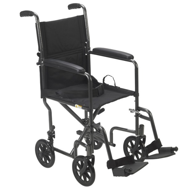 $Drive Medical Steel Transport Chair