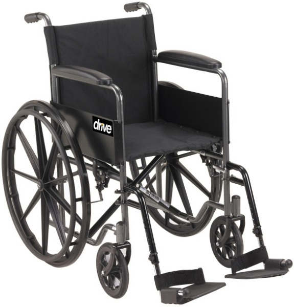 $Drive Medical Silver Sport 1 Wheelchair