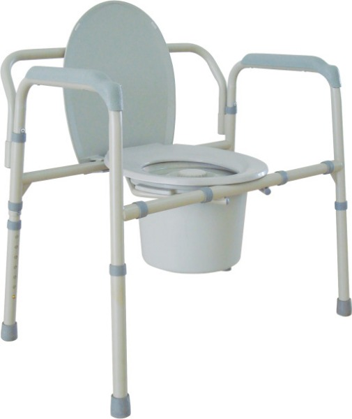 $Drive Medical Bariatric Folding Commode